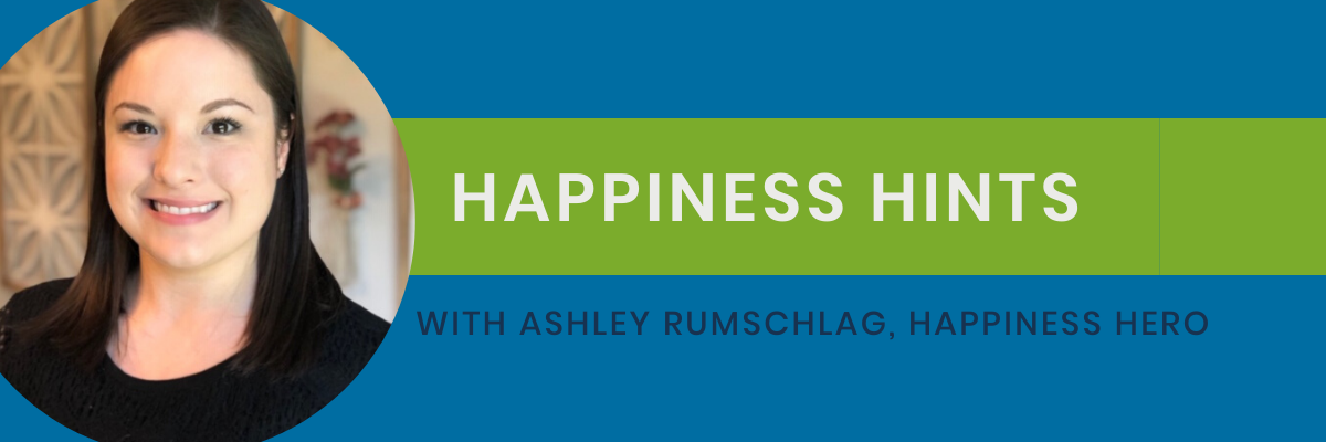 Ashley - Happiness Hints Blog Image
