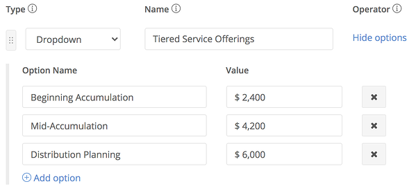 tiered-service-example