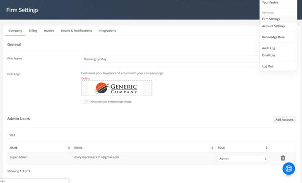 New Settings 3 - Firm Screenshot