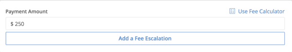 add fee escalation